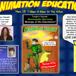 Animation Education 2013 web poster