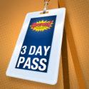 3 Day Pass