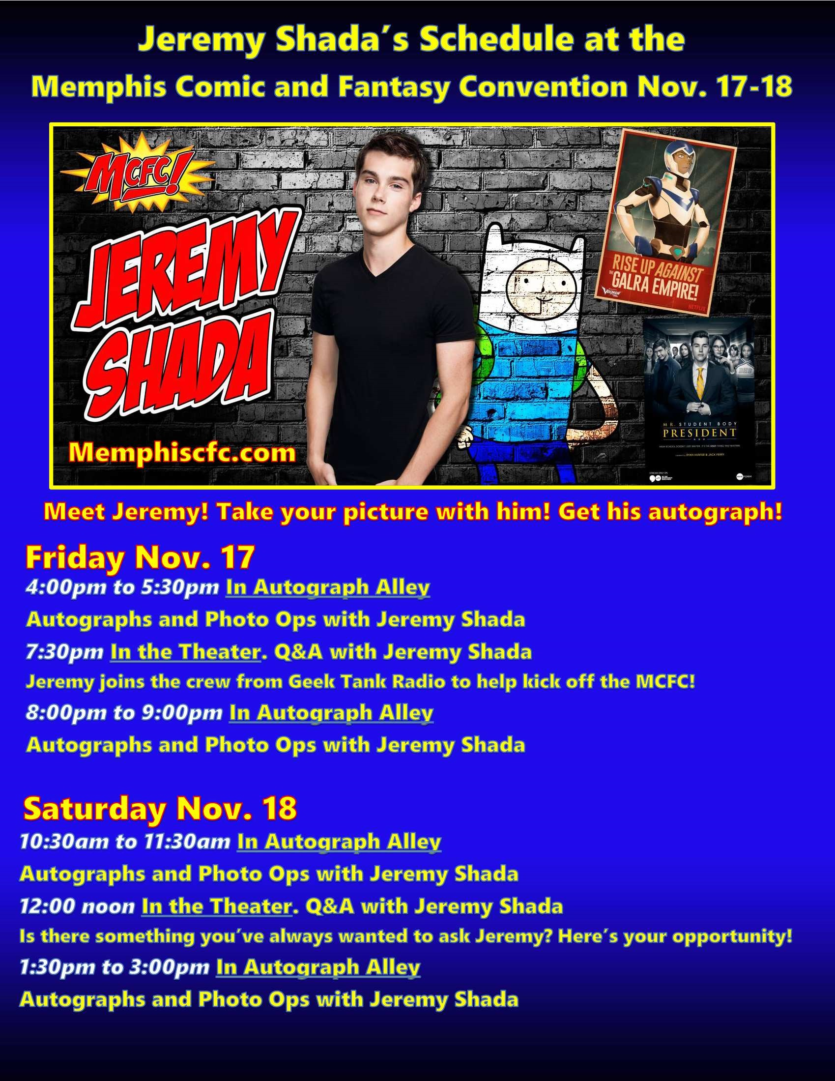 Jeremy Shada MCFC schedule flier low res