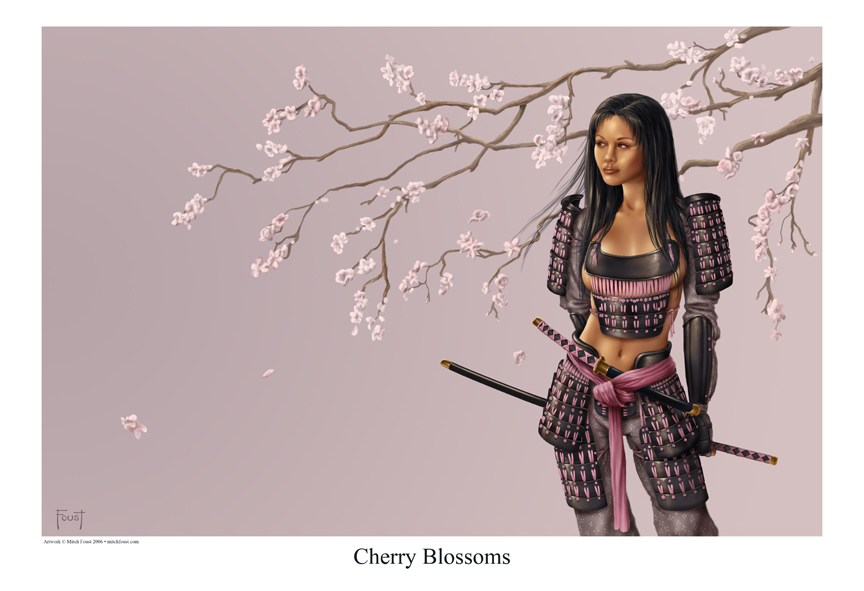 Cherry Blossoms by Mitch Foust